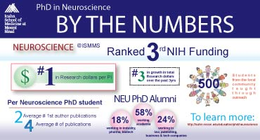 listical representation PhD in Neuroscience Mount Sinai Icahn School of Mediciane